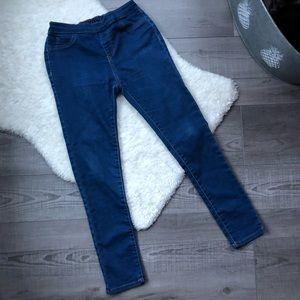Primark Girls Blue Jeggings size 10-11